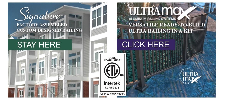 Residential & Commercial Aluminum Railing - Ultra Aluminum