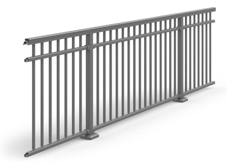 Residential Amp Commercial Aluminum Railing Ultra Aluminum